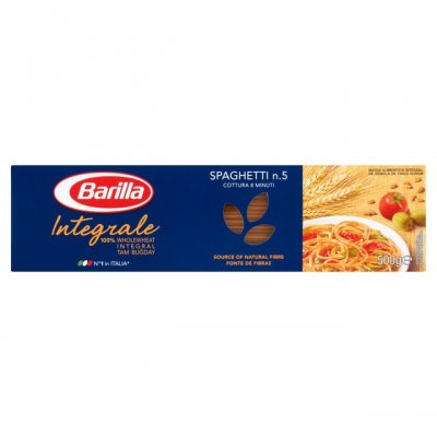 Whole Wheat Spaghetti Product