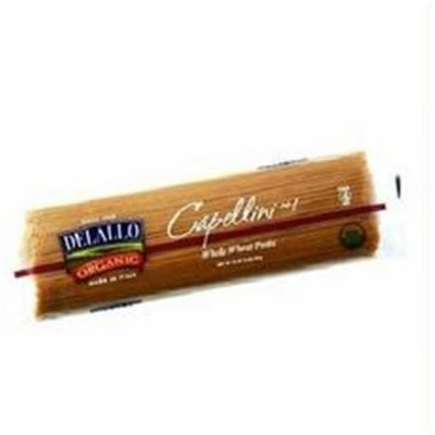 Capellini,100% Organic Whole Wheat