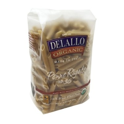 Penne Rigate,Organic Whole Wheat Macaroni Product