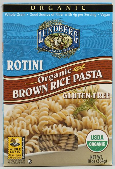 Rotini, Brown Rice Pasta