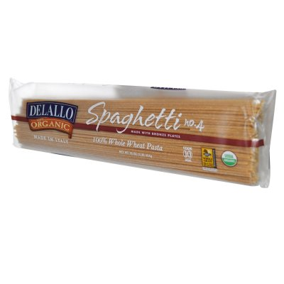 Spaghetti, 100% Organic Whole Wheat