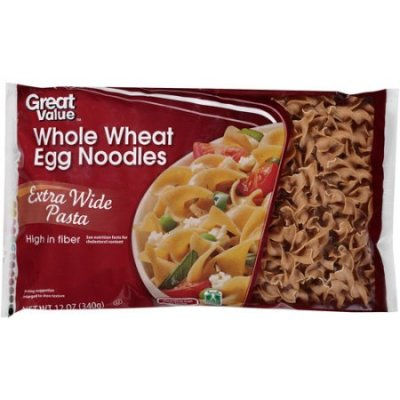 Whole Wheat Extra-Wide Noodles