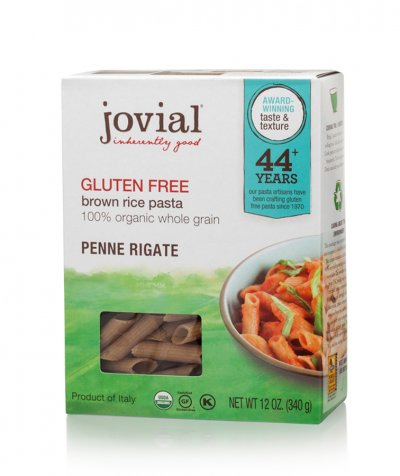 Penne Rigate Brown Rice Pasta