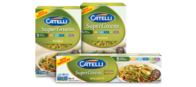 Super Greens, Enriched Pasta With Spinach, Zucchini, Broccoli, Parsley And Kale