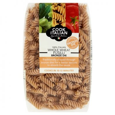 Whole Wheat, Fusilli, Durum Whole Wheat Semoliana