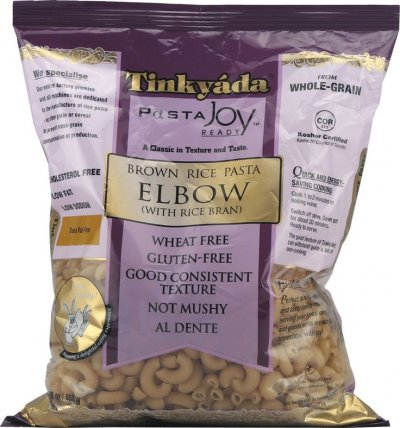 Brown Rice Pasta, Elbow, With Rice Bran