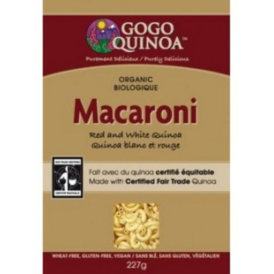 Organic Macaroni, Red And White Quinoa