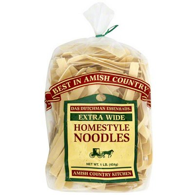 Homestyle Noodles, Extra Wide