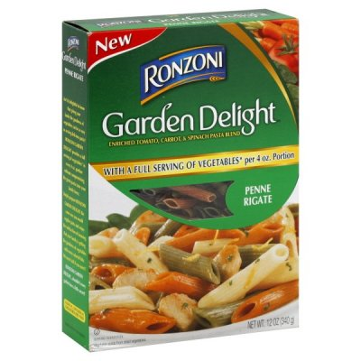 Tricolor Penne, Enriched Tomato And Spinach Macaroni Product