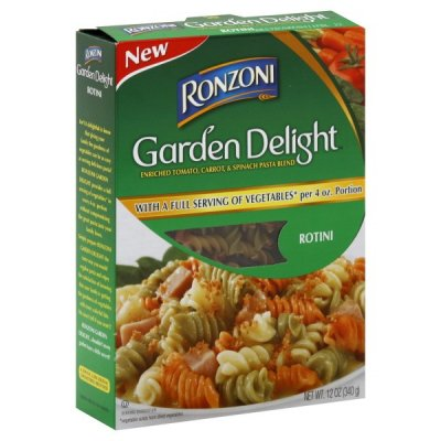 Tricolor Rotini Enriched Tomato And Spinach Macaroni Product, Pasta