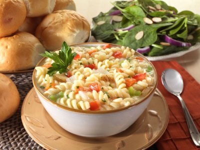 Vegetable Rotini, Enriched Vegetable Macaroni Product