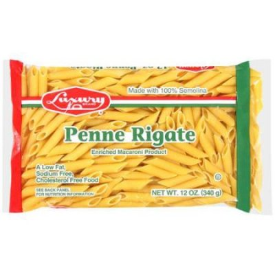 Penne Rigate, Enriched Macaroni Product