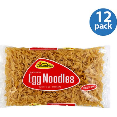 Egg Noodles, Medium, Enriched