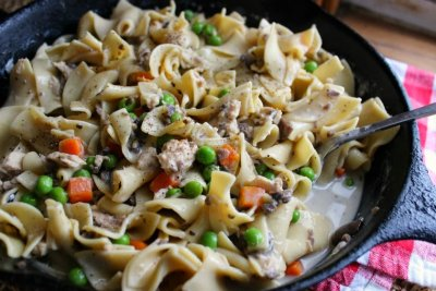 Hearty Homestyle Egg Noodles