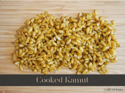 Kamut, cooked