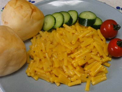 Macaroni And Cheese Dinner, Made With Organic Pasta And Cheddar Cheese