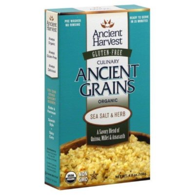 Organic Culinary Ancient Grains, Sea Salt & Herb