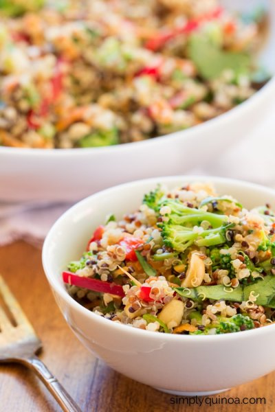 Quinoa And Grain Blend Thai Peanut