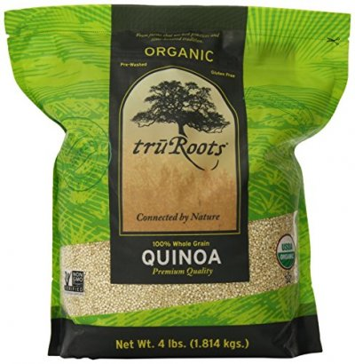 Quinoa, Premium, Organic, 100% Whole Grain