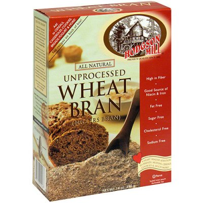 Unprocessed Miller's, Wheat Bran