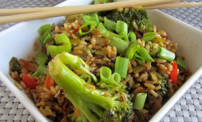 Brown & Wild Rice, With Quinoa