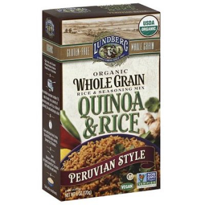 Organic Whole Grain Rice & Seasoning Mix, Quinoa & Rice, Spanish Style