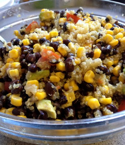Quinoa, Black Bean