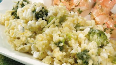 Couscous Mix, Broccoli & Cheese
