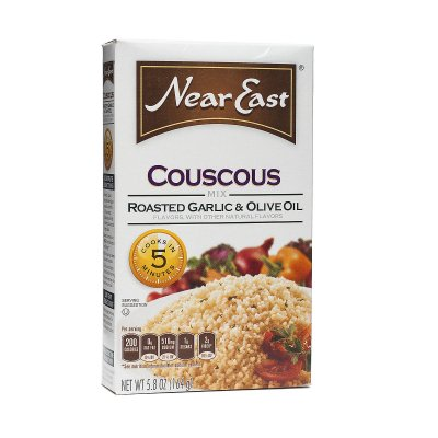 Couscous, Roasted Garlic & Olive Oil