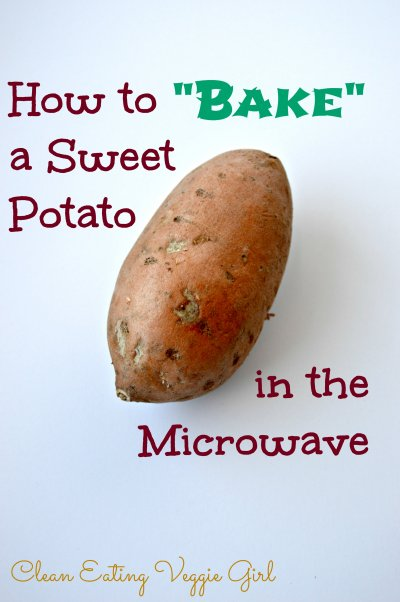 Microwaveable Sweet Potato