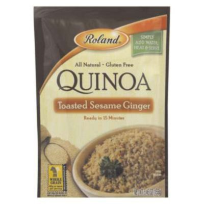 Quinoa, Toasted Sesame Ginger