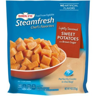 Streamfresh Chef's Favorites, Lightly Seasoned Sweet Potatoes With Brown Sugar