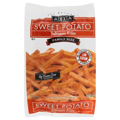 Sweet Potato Julienne Fries