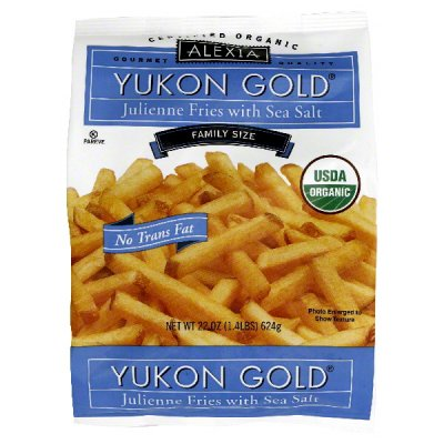 Julienne Fries, Yukon Gold, with Sea Salt