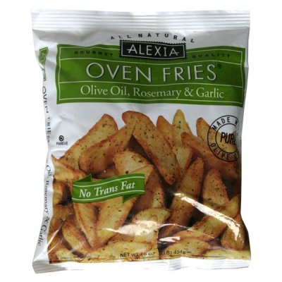Oven Fries, Olive Oil, Rosemary, & Garlic