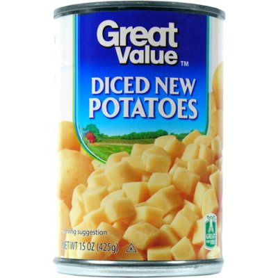 Potatoes, Diced, Canned