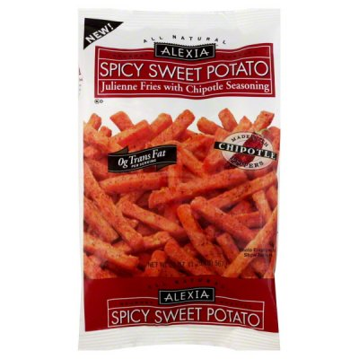 Julienne Fries, with Chipotle Seasoning, Spicy Sweet Potato