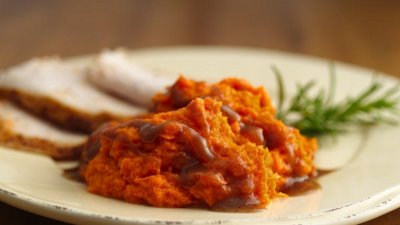 Mashed Sweet Potatoes, With Brown Sugar and Cinnamon