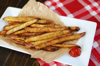 Seasoned Crispy Fries, French Fried Potatoes
