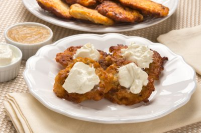 Traditional Latkes (potato pancakes)