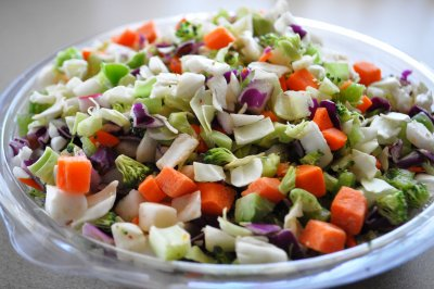Healthy 8 Chopped Veggie Mix