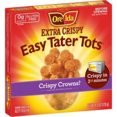 Extra Crispy  Easy Tater Tots Crispy Crowns