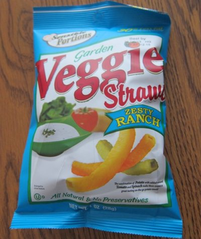 Garden Veggie Straw Zesty Ranch Snack