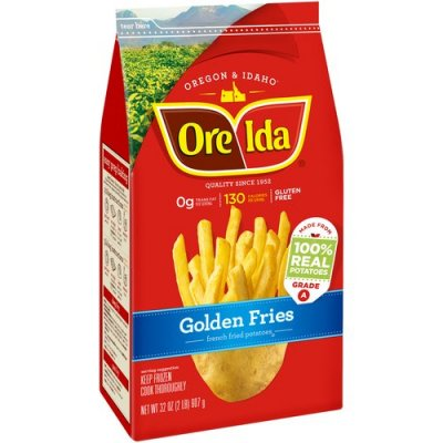 Golden Fries, French Fried Potatoes