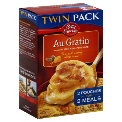 Au Gratin Potatoes, Twin Pack