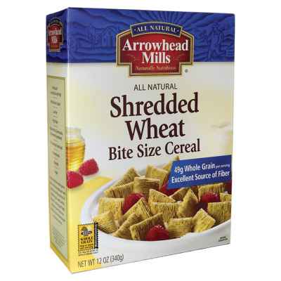 Cereal, Shredded Wheat, Bite Size