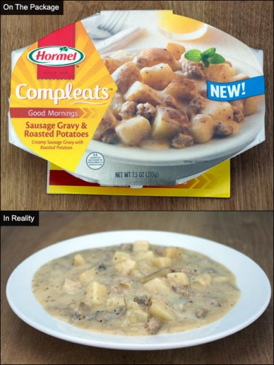 Compleats, Good Morning, Sausage Gravy & Roasted Potatoes