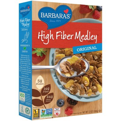 Fiber Way, A Crunchy Wheat And Corn Bran Cereal, High Fiber Cereal