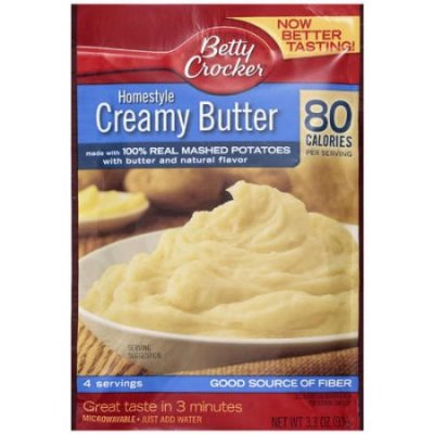 Homestyle Creamy Butter Made With 100% Real Potatoes