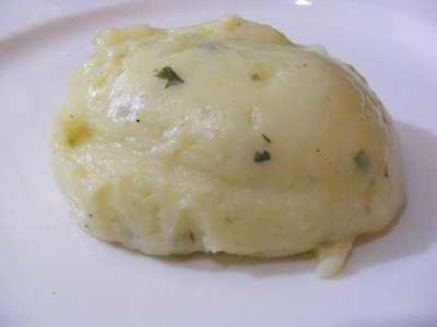 Mashed Potatoes, Sour Cream & Chives